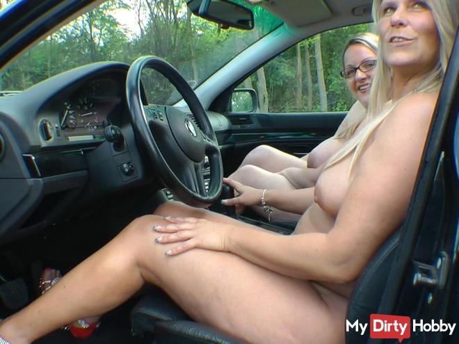 Handjob Beim Autofahren