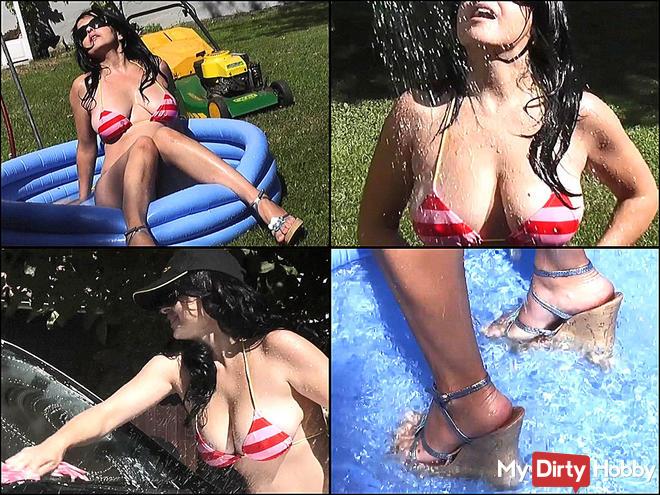 Car Wash, Tits & Cumshots (1)