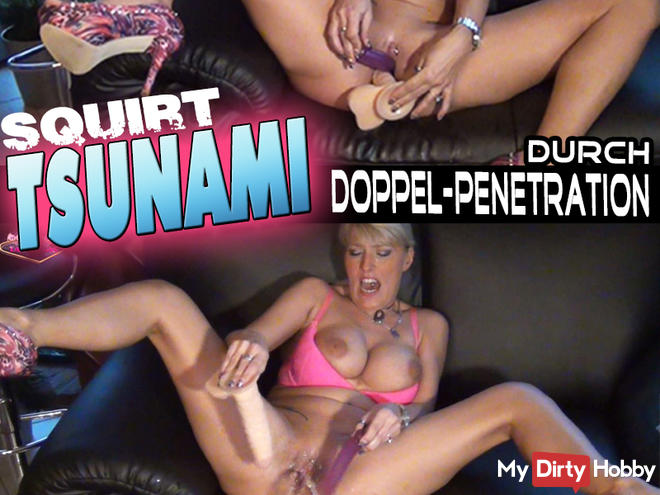 TSUNAMI by double penetration