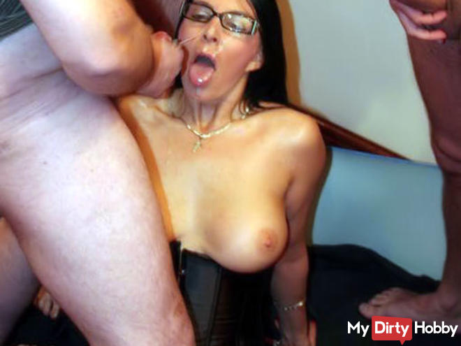 Hot milf getting butt fucked