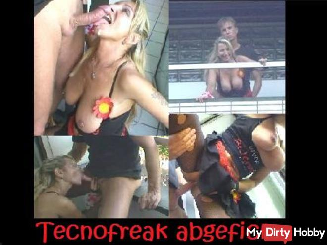 Tecnofreak Fucked in Public