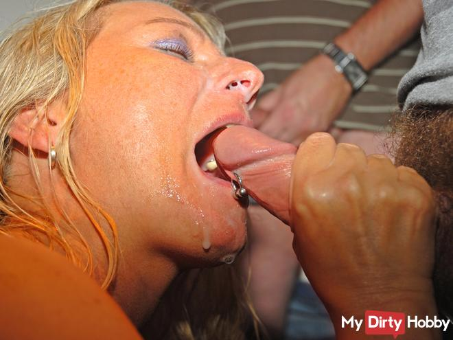 Das Sperma-Dreckstück(26xSperma schlucken)