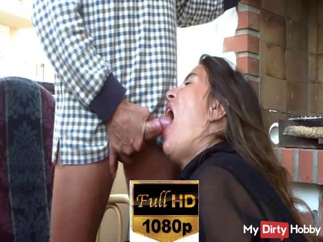 Open mouth cum in!