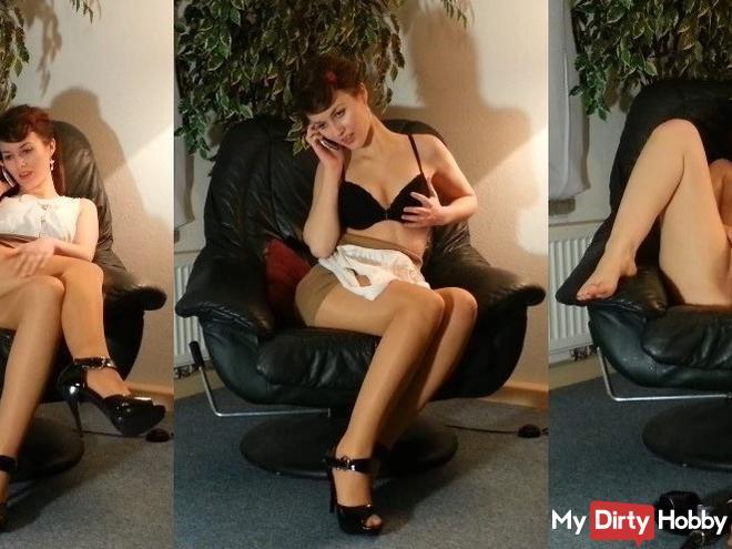 The hot secretary of the Lord Pornót!