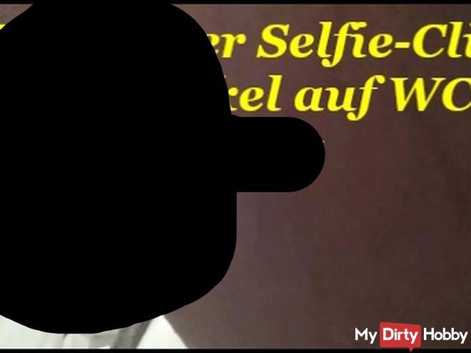 Mein erster Selfie-Clip  Beim Onkel auf WC gepi**t