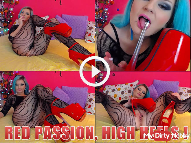 red passion, high heels !