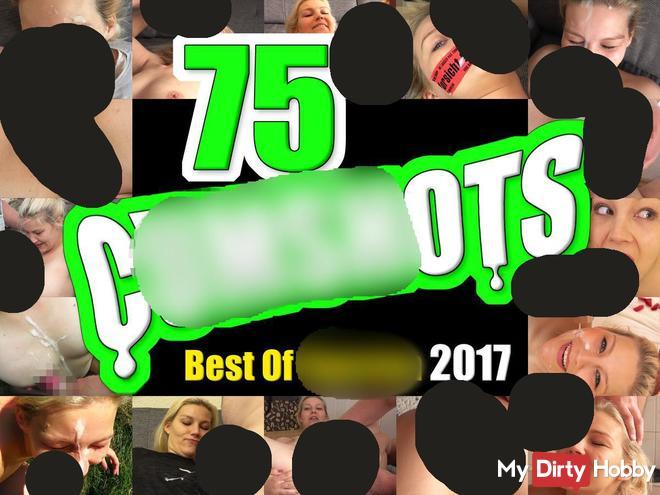 75 Cum***ts! Best Of sper*a 2017