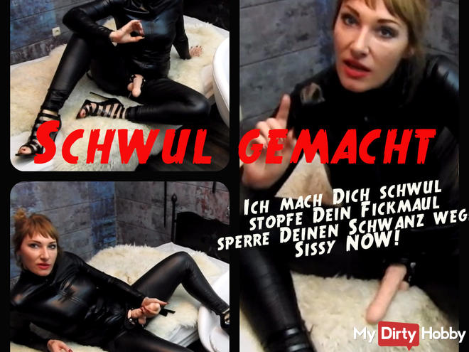 Ich mach dich schwul dominanter dirtytalk amp brainfuck