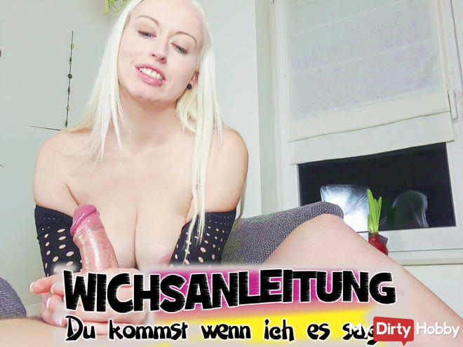Handjob training - You come when I say it!