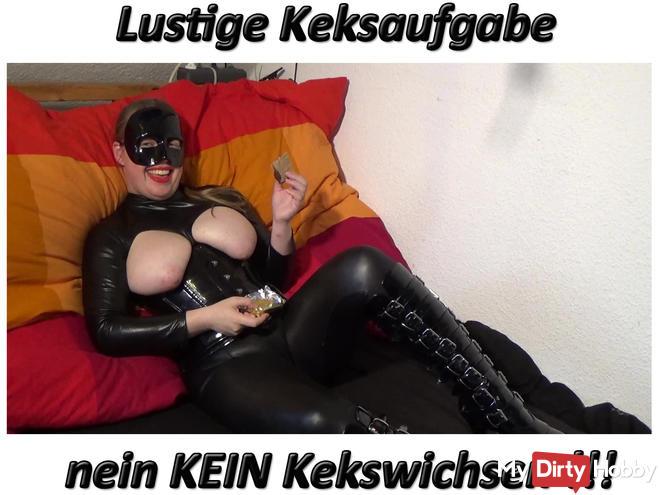 Wichsanleitung Funny Keksaufgabe, NO NO Kekswichsen!