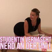 Drehbuch: Top, die Wette gilt: Studentin vernascht Nerd in der Uni