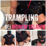 Trampling the slaves