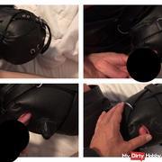 bl*wjob mit Ledermaske (Isolationsmaske)