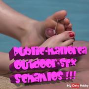 Public-Mallorca Outdoor Sex .... Shamelessly