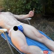 Outdoor toy session