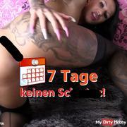 7 TAGE KEINEN schw**z - MEGA SQUIRT