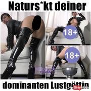 naturs*** deiner dominanten Lustgöttin