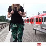 Vor der Schule!!! Kranke S-Bahnfahrt* bla*en+Cum***t*