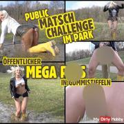 PUBLIC Matsch Challenge | Mega pi** in Gummistiefeln