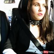 Puplic im Taxi gekommen