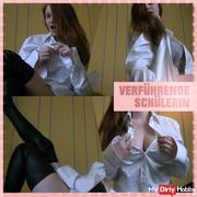 Seductive schoolgirl..