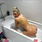 bath queff fanny farting
