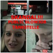 "SCANDAL !! ""PUBLIC"" blowjob ""gas station!"