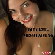 Quickie and mega load Uncut !!!