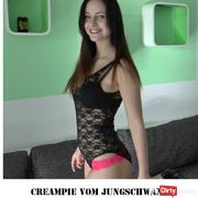 Creampie from 18 years old.Jungschwanz !!