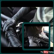 Hand job in car