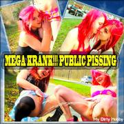 MEGA KRANK!!! PUBLIC PISSING