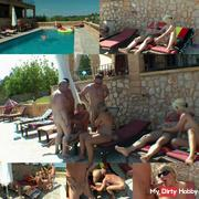 Group sex on vacation! The coolest hotel on Mallorca!
