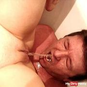 Slave Drinks my Piss
