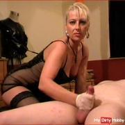 Milked cock hardcore pussy licking 69 Domina BDSM
