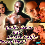 Cars Starting porn, horny threesome with Jayden Taylor