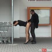 When shopping, fucked!