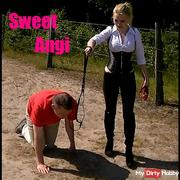 My disobedient dog punished