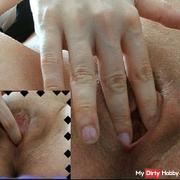 Hochschwanger gewichst - 3 Orgasmen - EXtrem nah