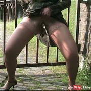 Outdoor pissing and farting