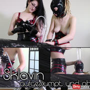 Pumped And Wanked Off With Slave Girl III