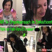 OMG!! 3x ORGASMUSRAUSCH im Einkaufscenter!!!