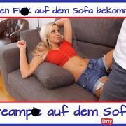 cream**e auf dem Sofa...