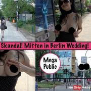 Skandal Public in Berlin Wedding!