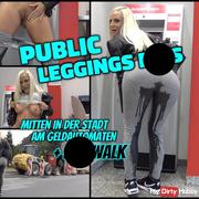 PUBLIC Leggings pi** am Geldautomaten + pi**WALK