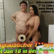 Unglaublicher Teenys*x mit Jan 18 in der Dusche !