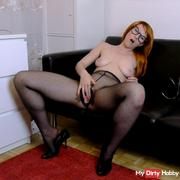 Redhead secretary needs relaxation
