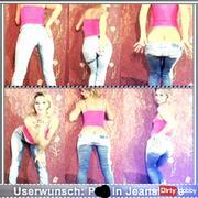 Userwunsch: pi*i in Jeanshose