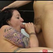 Pippa sucks Libbys cock then Libby Licks Pippa