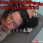 Little teen girl HARDCORE uses & zerfickt!
