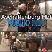 Dreister PUBLIC pi** im Hauptbahnhof | naturs*** Quelle direkt am Bahnsteig